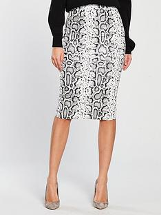 v-by-very-textured-pencil-skirt-snake-print