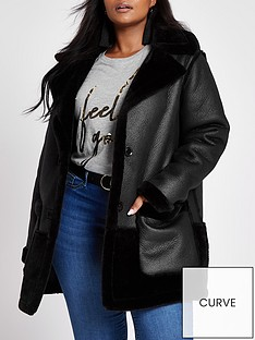 ri-plus-ri-plus-faux-fur-reverisble-car-coat--black