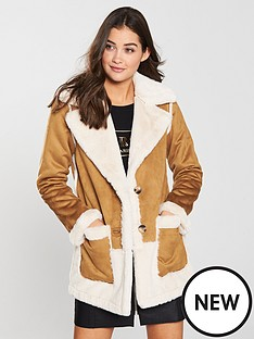 river-island-river-island-faux-fur-reverisble-car-coat--tan