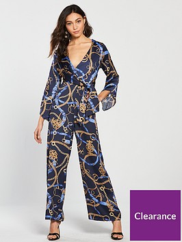 river-island-river-island-printed-kimono-jumpsuit--navy