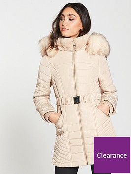 river-island-river-island-belted-hooded-padded-jacket--cream