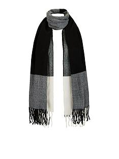warehouse-large-scale-check-scarf-greynbsp
