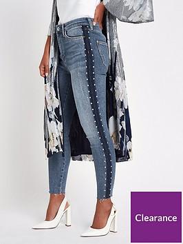 ri-petite-petite-harper-high-waisted-side-detail-skinny-jeans-blue