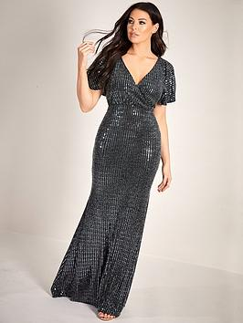 sistaglam-loves-jessica-sequin-kimono-sleeve-maxi-dress-black
