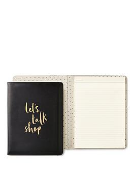 kate spade new york  Kate Spade New York Kate Spade Let'S Talk Shop Notebook