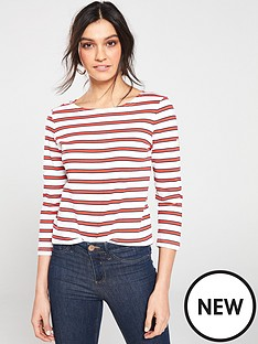 joules-harbour-stripe-top-red-stripe