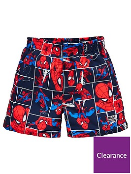 speedo-speedo-toddler-boys-spiderman-11-inch-watershort