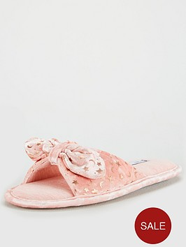 v-by-very-wendy-knot-bow-slipper-pink