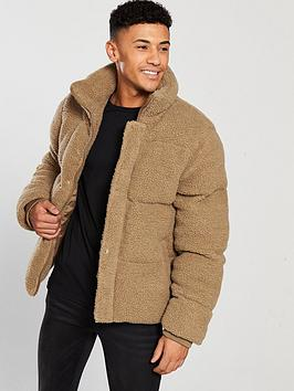 river-island-teddy-borg-padded-jacket