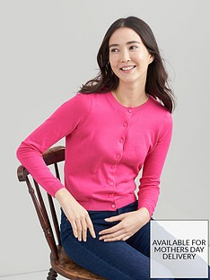 joules-button-front-cardigan