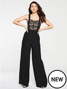 michelle-keegan-lace-top-wide-leg-jumpsuit-black
