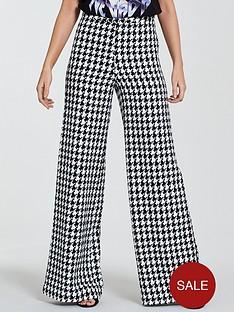 michelle-keegan-houndstooth-wide-leg-trouser-monochrome