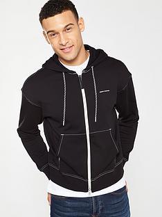 armani-exchange-zip-through-hoodie-black