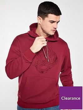 armani-exchange-hoodie-biking-red