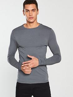river-island-long-sleeve-musclenbspt-shirt-slate