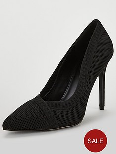 v-by-very-carlie-knitted-point-court-black