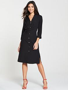 river-island-shirt-dress-black