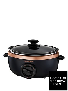 morphy-richards-evoke-35-litre-manual-slow-cooker-blackrose-gold
