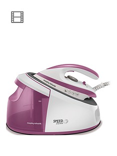 morphy-richards-speed-steam-generator-iron-333201-whitepink