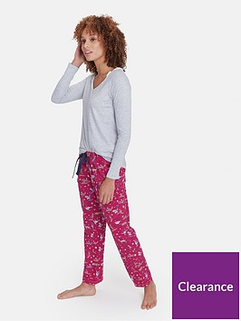 joules-snooze-brushed-cotton-pj-bottom