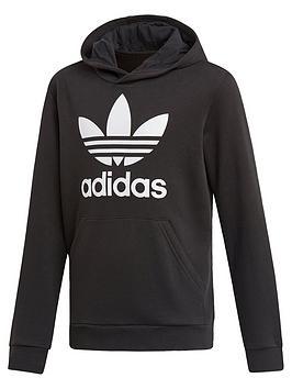 adidas Originals Adidas Originals Boys Trefoil Hoodie Picture