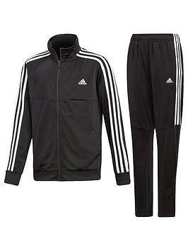 Adidas   Boys Tiro Tracksuit - Black
