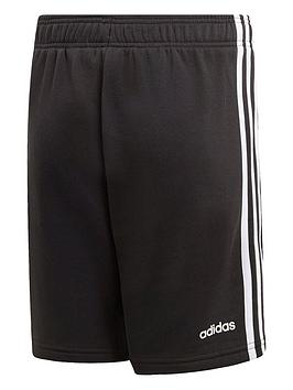 Adidas   Boys 3 Stripe Knit Short