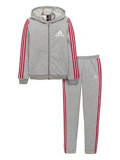 adidas-girls-hooded-fleece-tracksuit
