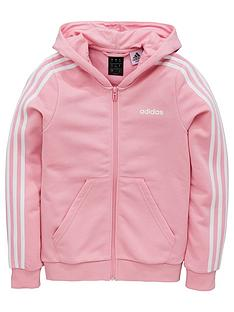 adidas-girls-3-stripe-fz-hoodie