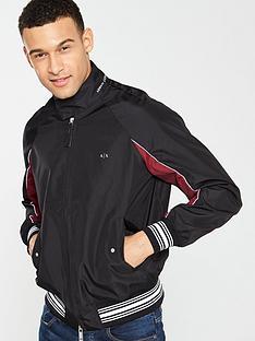 armani-exchange-lightweight-bomber-jacket-black