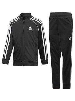 adidas Originals Adidas Originals Boys Superstar Suit Picture