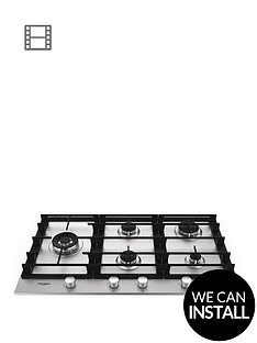 whirlpool-w-collection-gmw9552ixl-59cm-gas-hob-with-optional-installation-steel