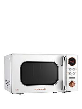 Morphy Richards   20-Litre Microwave - White Rose Gold