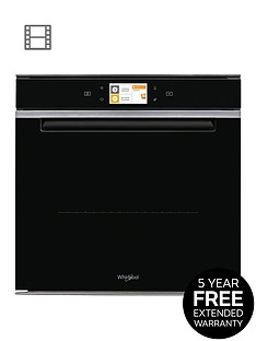 whirlpool-wnbspcollectionnbspw11om14ms2hnbsp60cmnbspbuilt-in-single-electric-oven-with-optional-installation-inoxblack