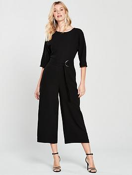 warehouse-o-ring-jumpsuit-black