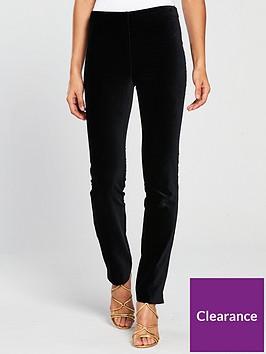 v-by-very-velvet-slim-leg-co-ord-trousers-black