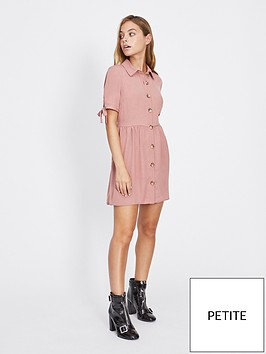 miss-selfridge-petite-shirt-dress