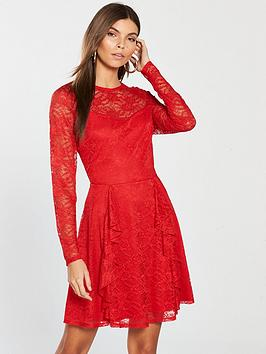 lace-dress-red