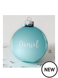 personalised-metallic-bauble