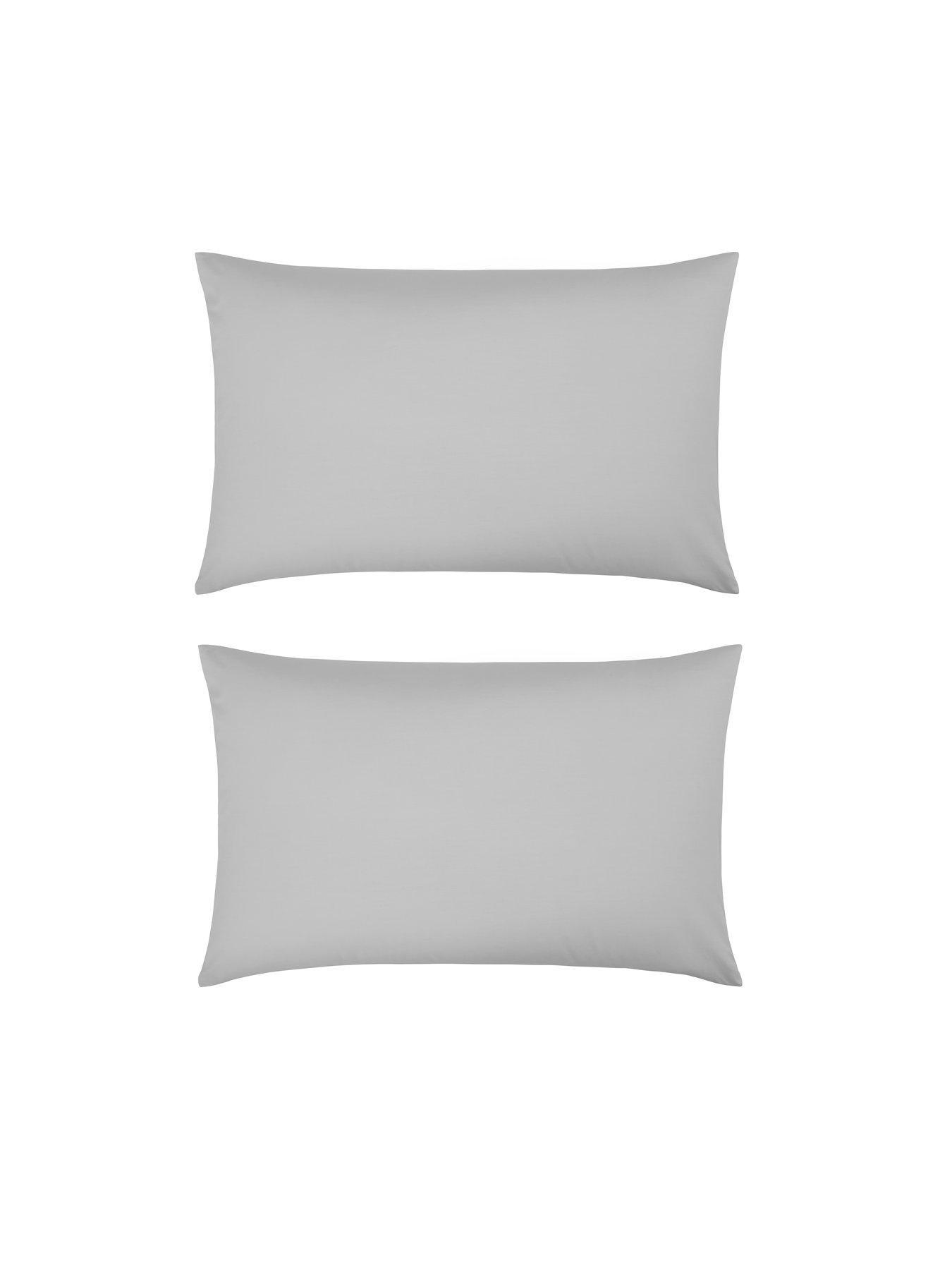 Plain One Colour Square Pillowcase 63 x