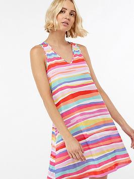 accessorize-jersey-stripe-vest-dress