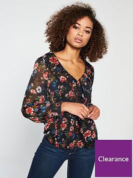 v-by-very-sheer-printed-ruffle-blouse