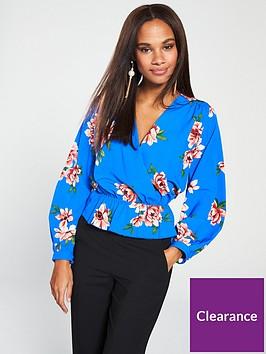 v-by-very-printed-peplum-blouse