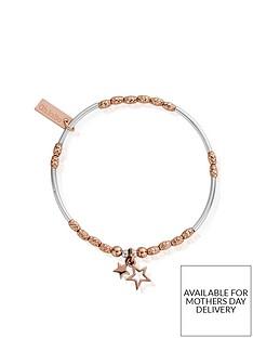 chlobo-chlobo-rose-and-silver-double-star-bracelet