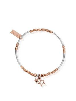 chlobo-chlobo-rose-and-silver-double-star-bracelet