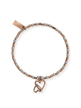 chlobo-chlobo-rose-and-silver-interlocking-love-heart-bracelet