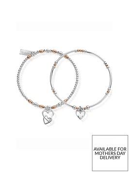 chlobo-rose-and-silver-double-devotion-set-of-2-bracelets