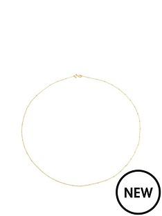 love-gold-9ct-gold-saturno-cube-link-chain-necklace