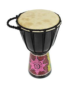 a-star-solid-wood-hand-carved-djembe-5-inch-head
