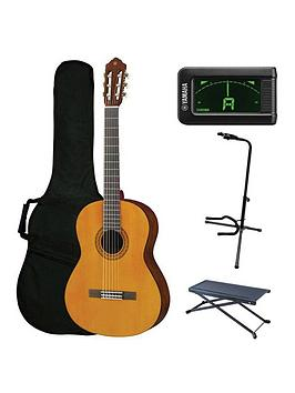 Yamaha Yamaha Yamaha C40 Classical Guitar Performance Pack With Free  ... Picture